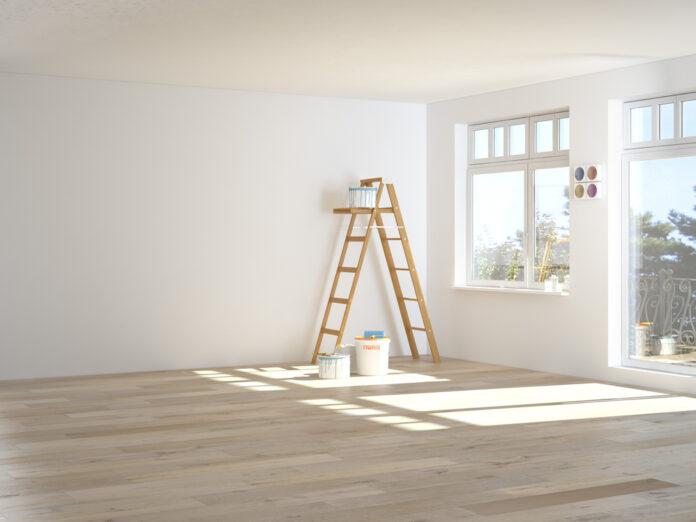 muren schilderen in huis